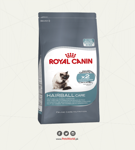 Royal Canin Hairball Control Cat Food 2 KG